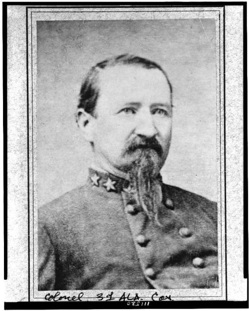 My ggggrandfather Confederate General James D. Hagan, who was born in Ireland.
