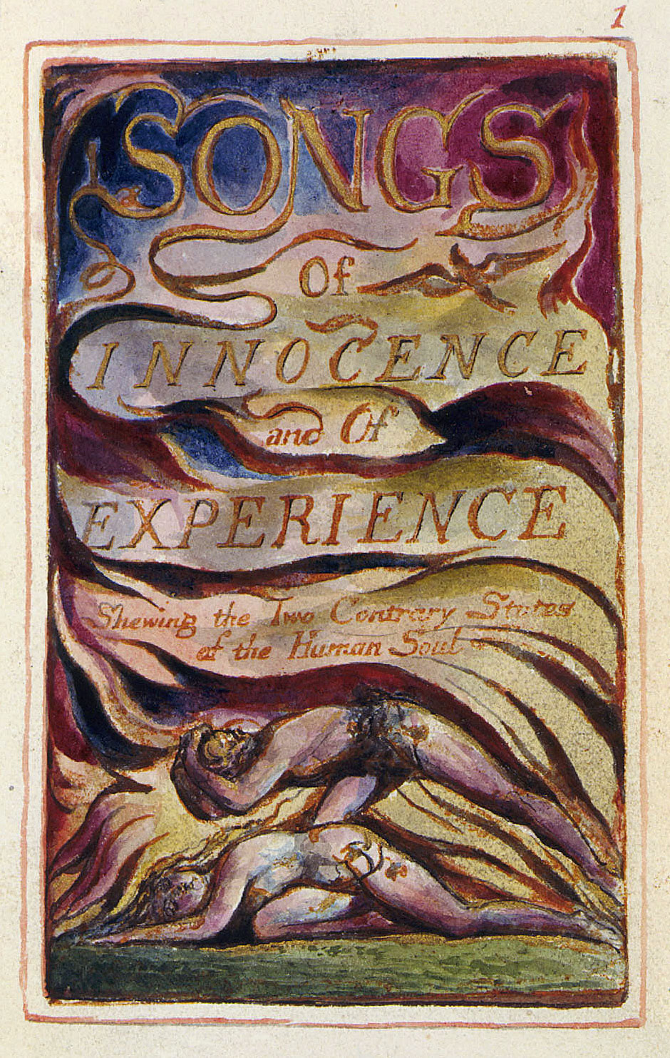 an examination of the book songs of innocence and experience by william blake