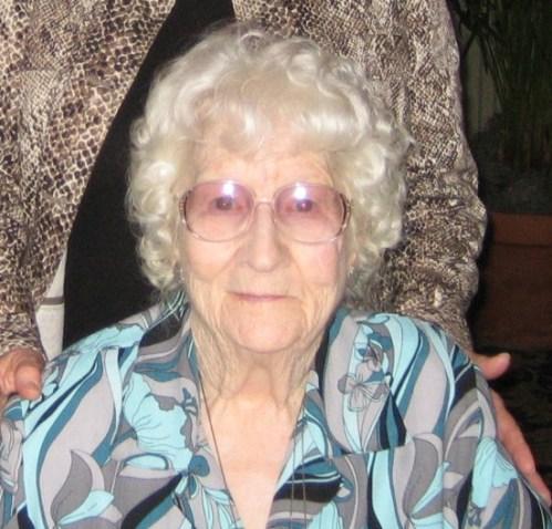 My maternal grandmother, Mima.