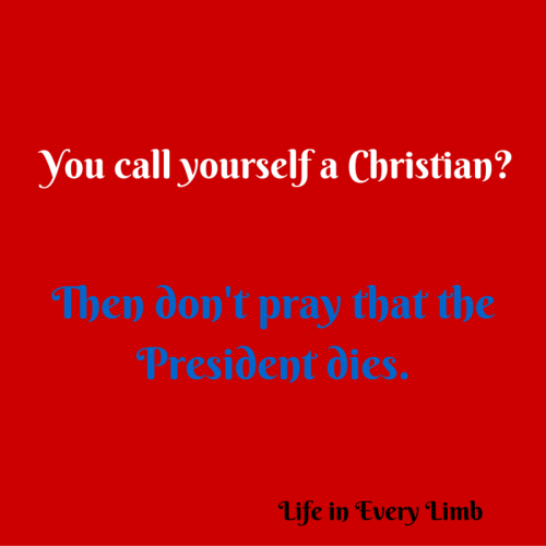 You call yourself a Christian- (1)