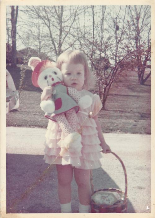 Me at age two, before hopping on the diet treadmill