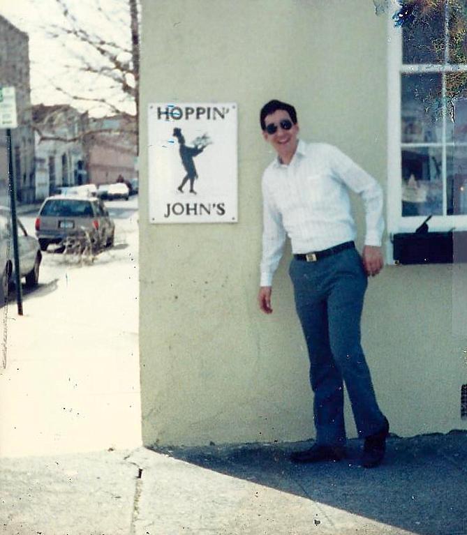 John in Charleston, not doing a very good job at simulated hopping, March 1988
