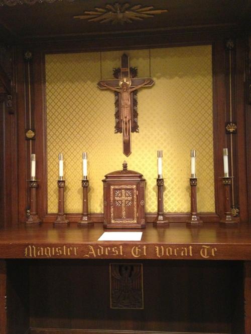 ND Chapel Altar 2