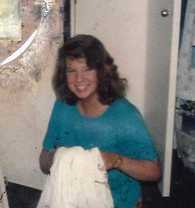Fall 1986 after the rice diet--please excuse fire-damaged picture