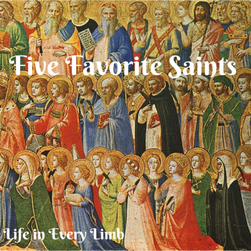 Five Favorite Saints