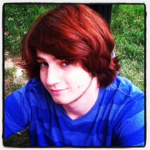 Jake with Red Hair