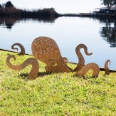 octopus sculpture